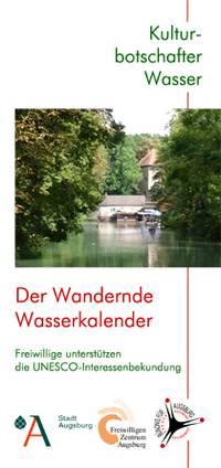 UNESCO-Interessenbekundung - Kulturbotschafter Wasser Flyer