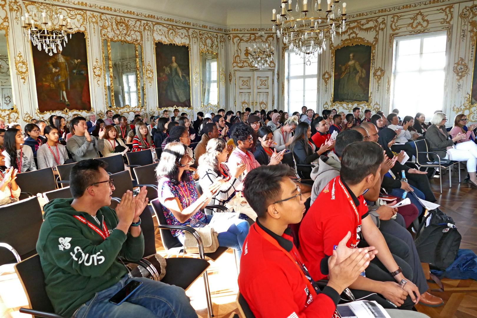 Welt-Jugendfreiwilligenforum 2018 Augsburg / Deutschland - 17.10.2018 Rokokosaal - Foto: Christoph Urban - Freiwilligen-Zentrum Augsburg