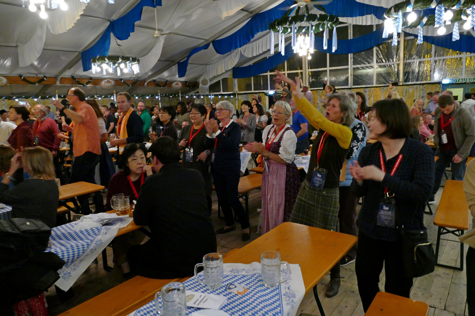 25. IAVE Welt-Freiwilligenkonferenz 2018 in Augsburg - Deutschland - 19.10.2018 Bavarian Evening - Foto: Christoph Urban - Freiwilligen-Zentrum Augsburg