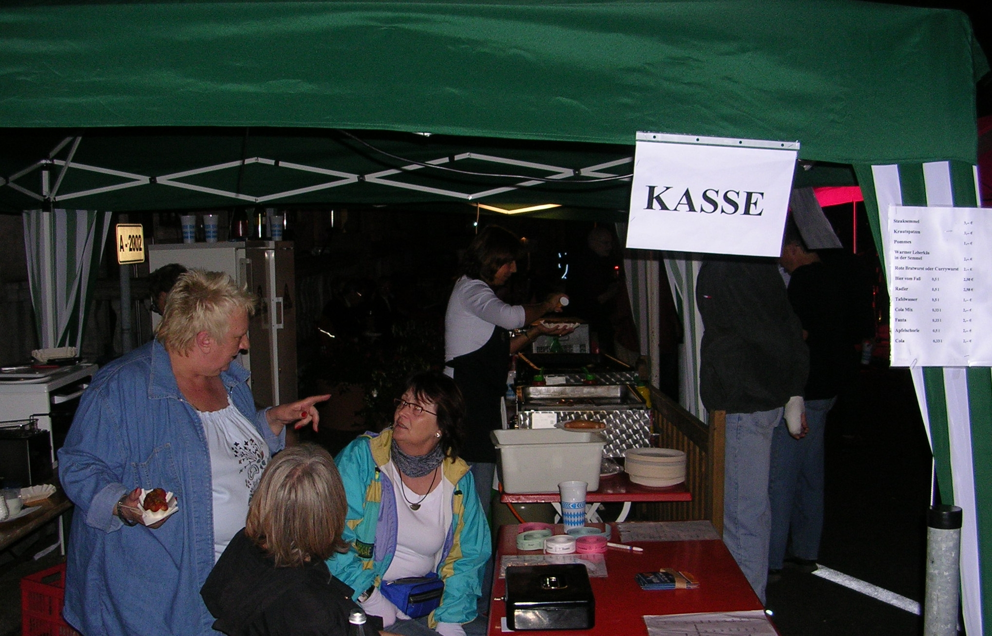 Konzerte im Bürgerhof 2007 - Freiwilligen-Zentrum Augsburg - Foto: Robert Hösle