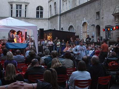 Konzerte im Bürgerhof 27.06.09 Pick up Ramblers - Freiwilligen-Zentrum Augsburg - Foto: Hugo Fössinger