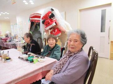 【ケアハウス】新年会