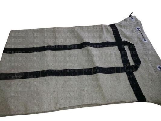 Брезентовый мешок с ручками и люверсами для эвакуации секретных документов