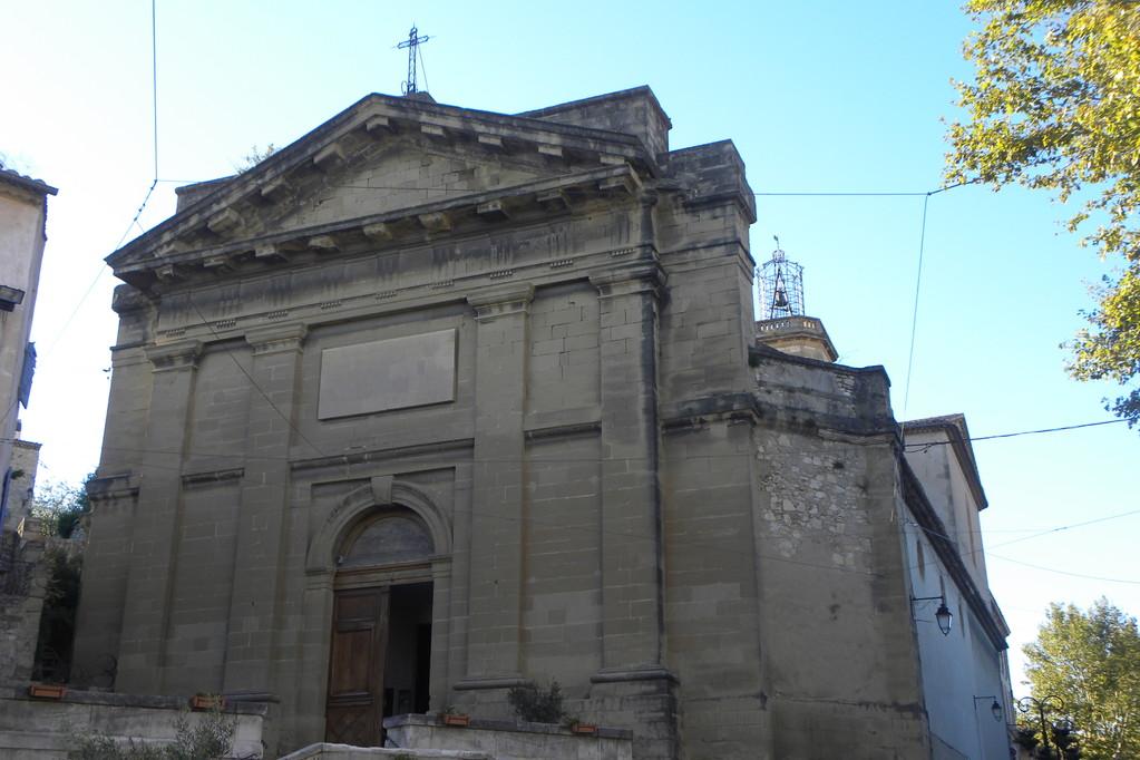 Façade de l'Eglise de Notre-Dame de Grâce Eyguières
