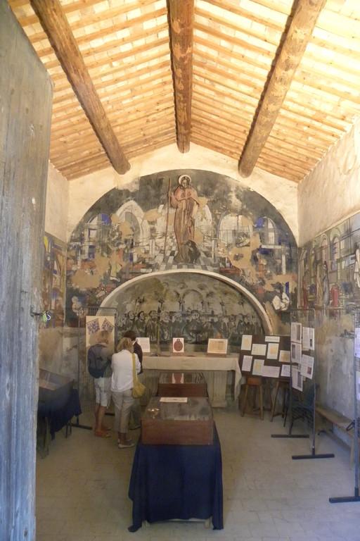 Chapelle St Roch Eyguières