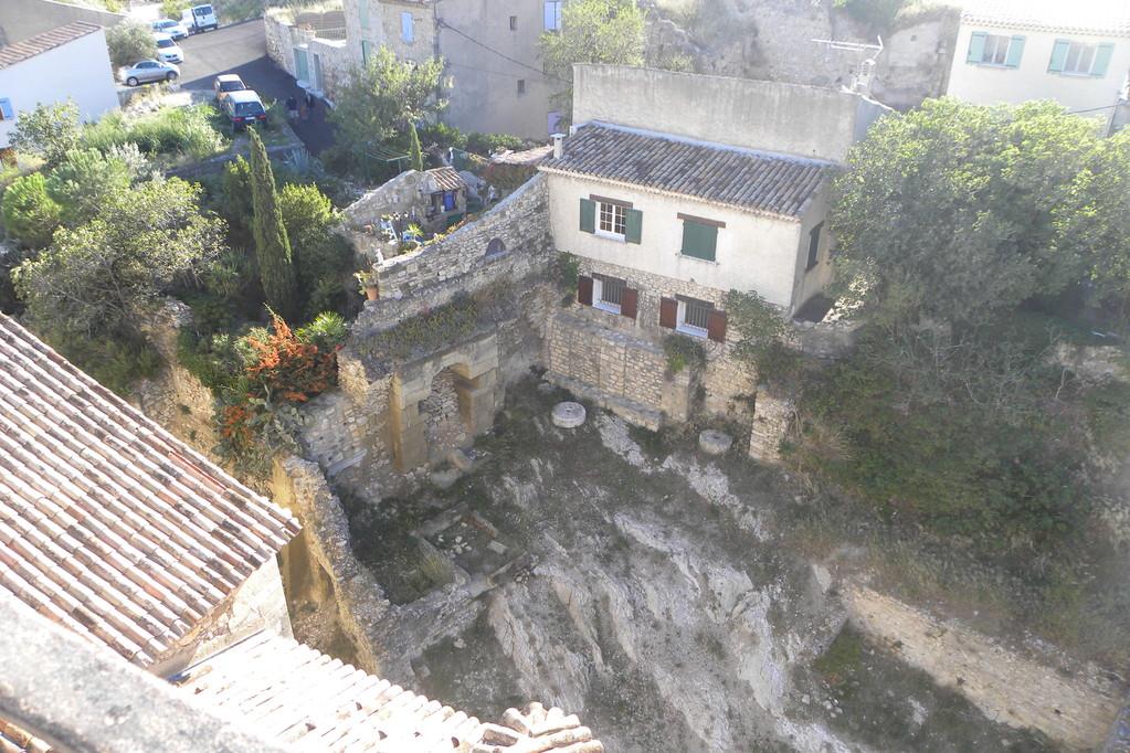 Vue sur l'ancien moulin