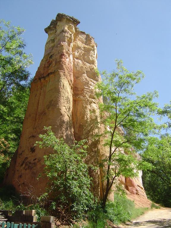 Roussillon, en région PACA