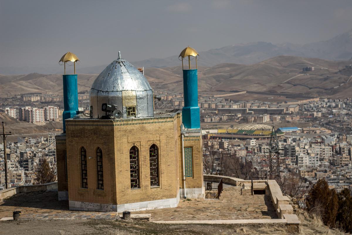 Sanandaj, Kurdistan Province, Iran. March 2017.