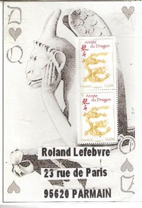 """Des cartes à jouer """"Chimères"""" de Pierre..."""