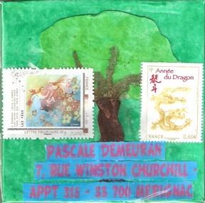 Des arbres pour le village de Pascale D.