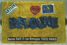 Beloune (petit nom affectueux de Béren)