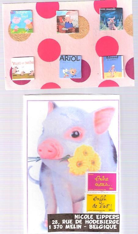les cochons dans la BD pour PiggyOne