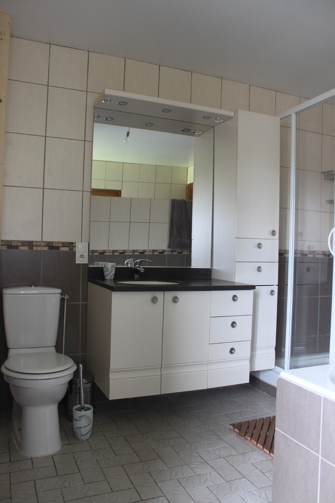 Premier étage: salle de bain