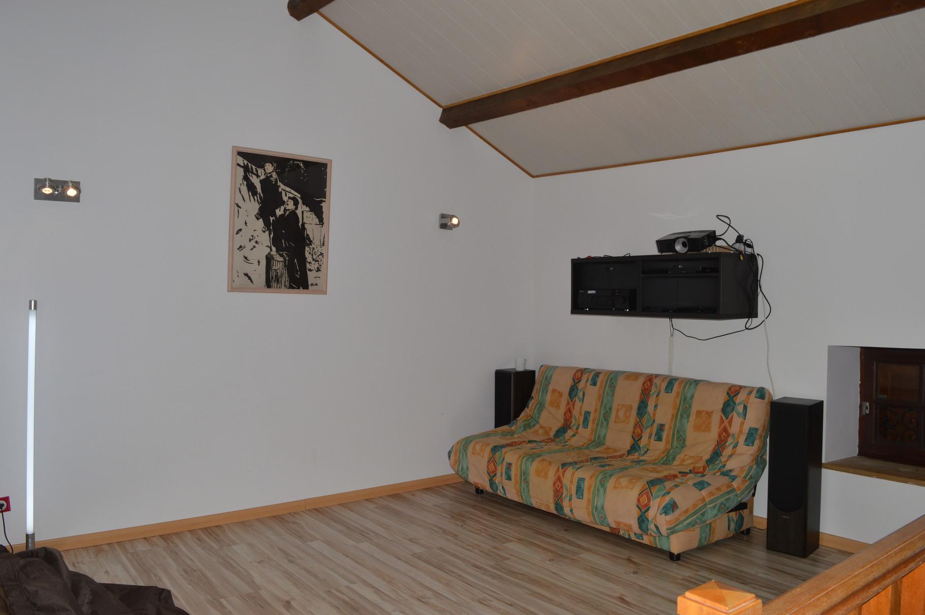 Deuxième étage: espace détente