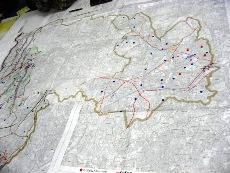 4区を張り合わせた地図