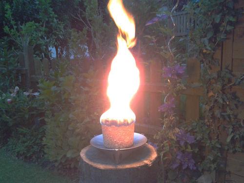 brennender Feuer-Flott Großkegel
