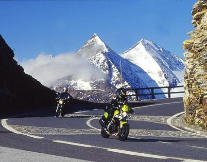 Motorradstrecke Zell am See