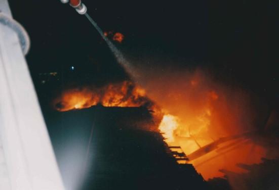 Feuer in Dissen 1993