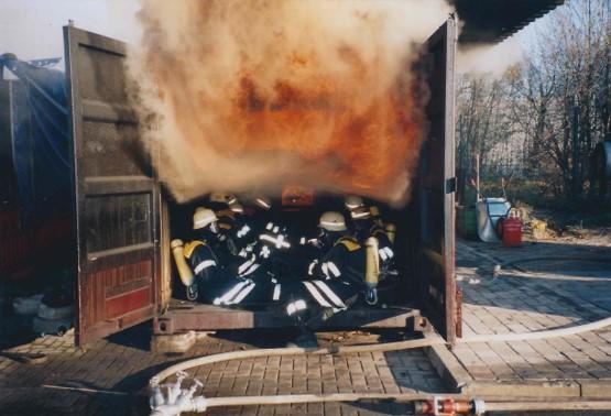 Brandsimulationsanlage 2001