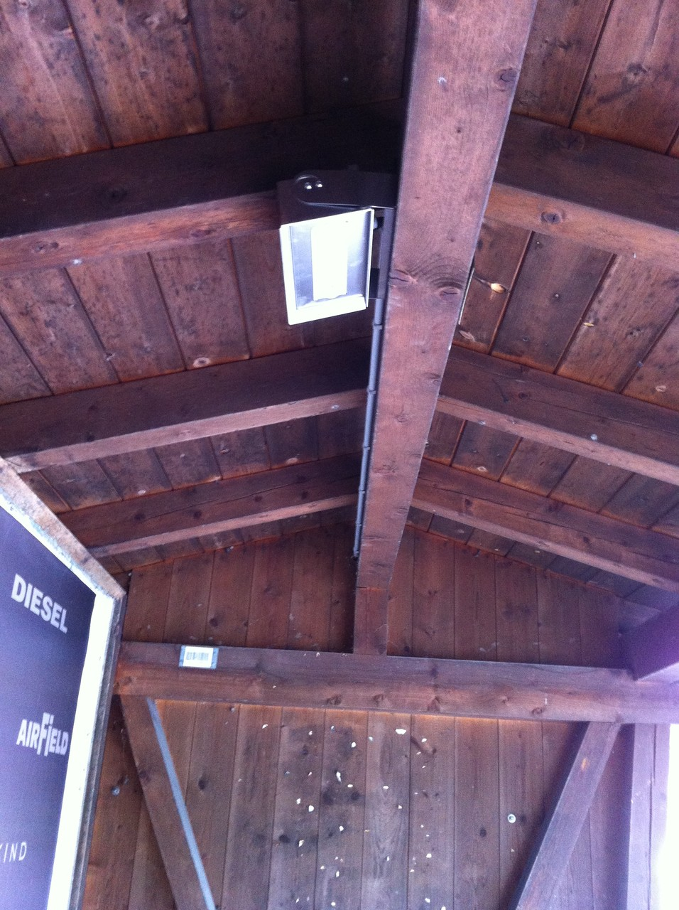 LED Strahler Buswartehaus