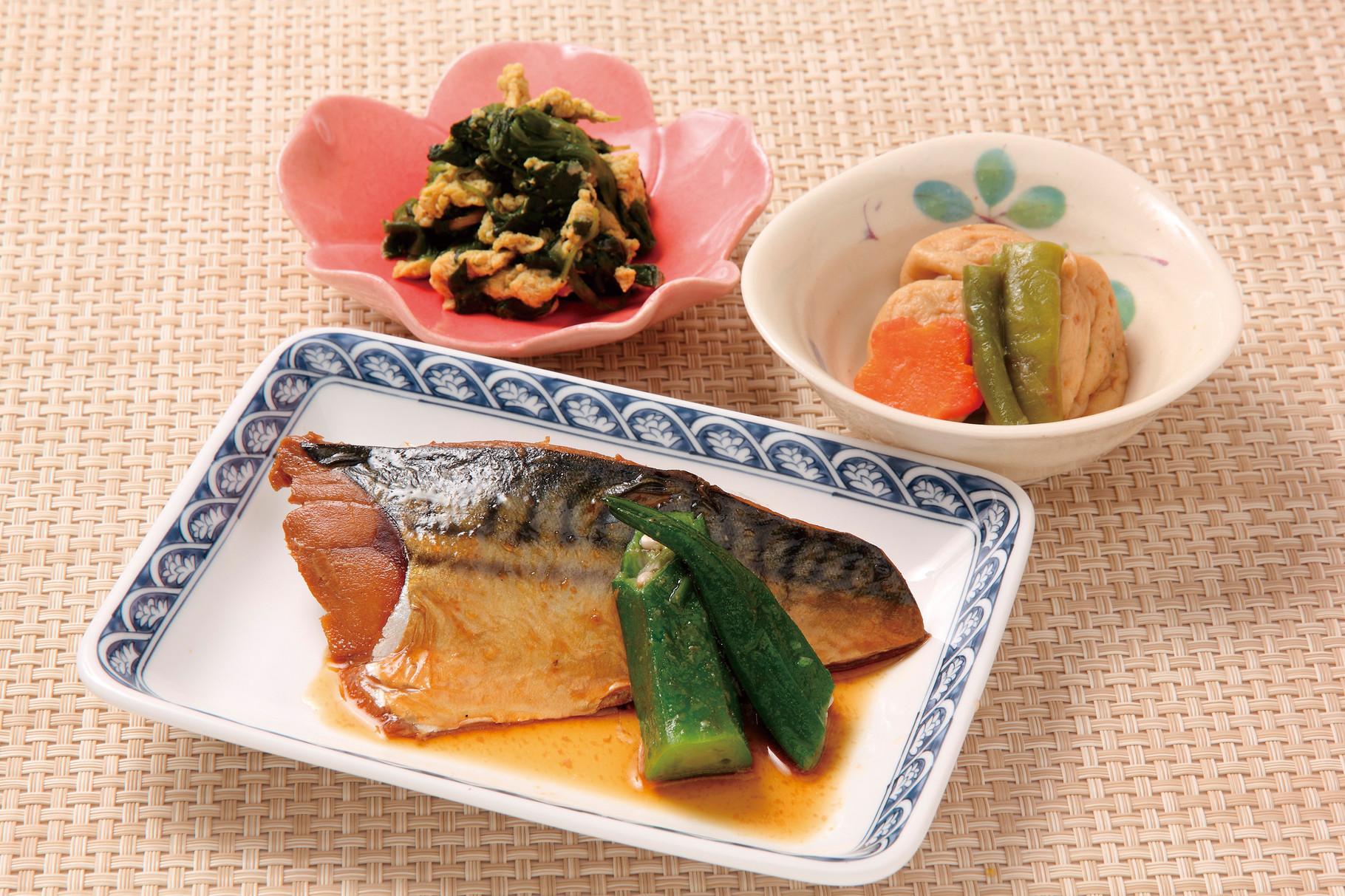 昼食 「鯖の味噌煮」