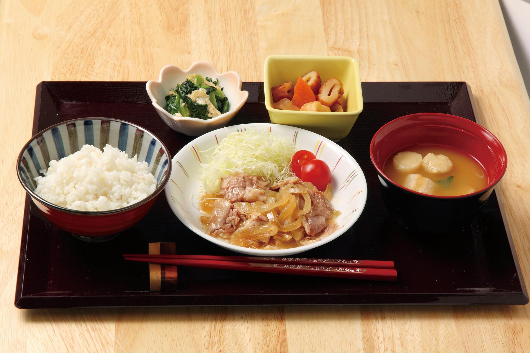 夕食 「生姜焼き」