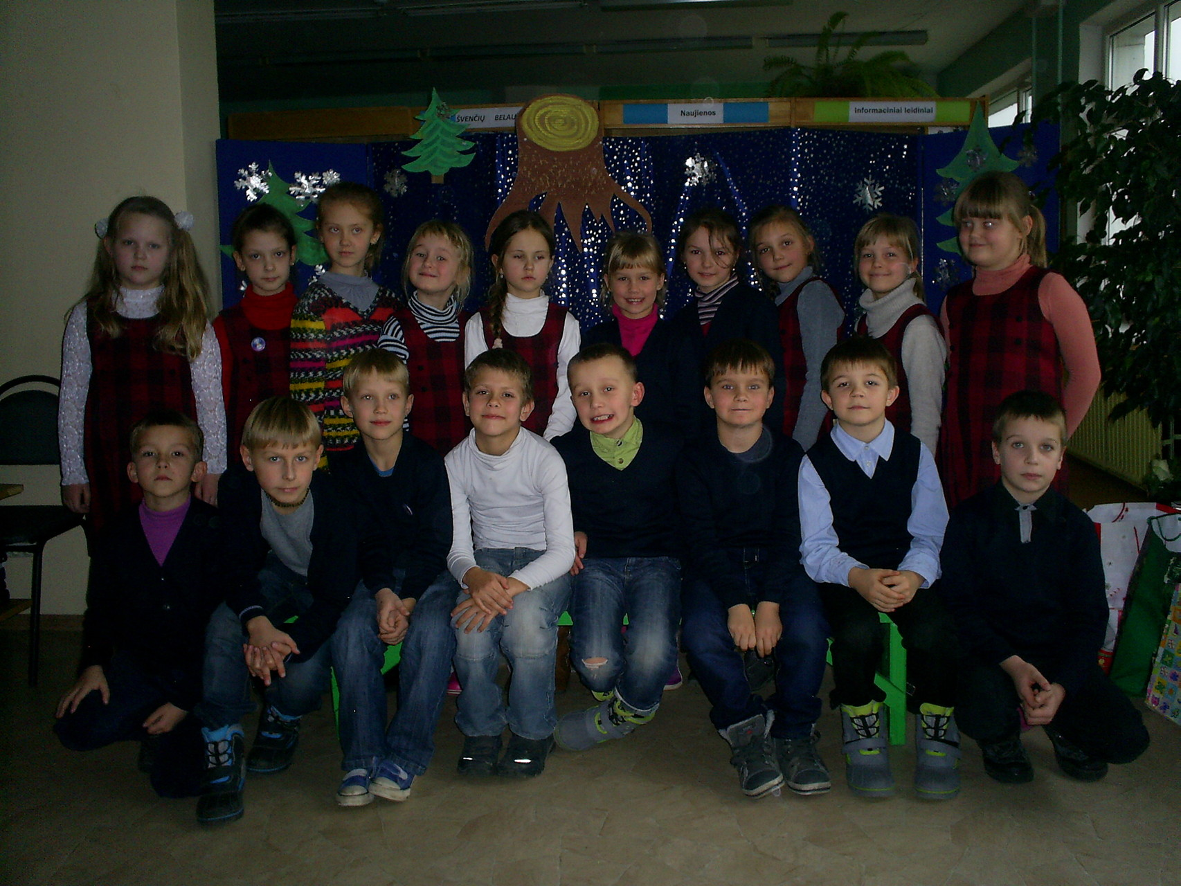 Mūsų klasė bibliotekoje