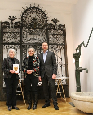 Helga Wolf, Doris Wolf, Matthias Bechtle.