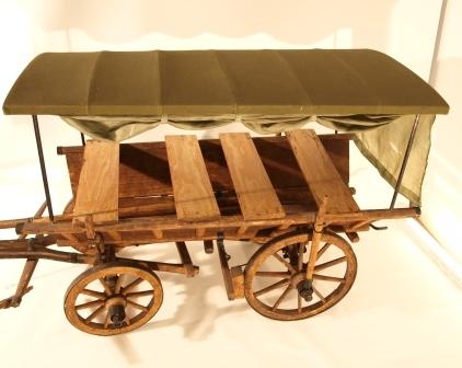 Zeiselwagen-Modell aus der Schausammlung des Bezirksmuseums Alsergrund (ALSEUM)