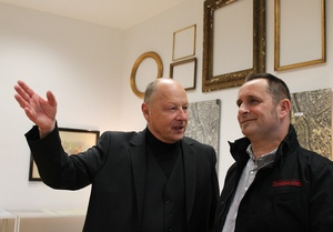 Dir. Willi Urbanek und Robert Bouchal