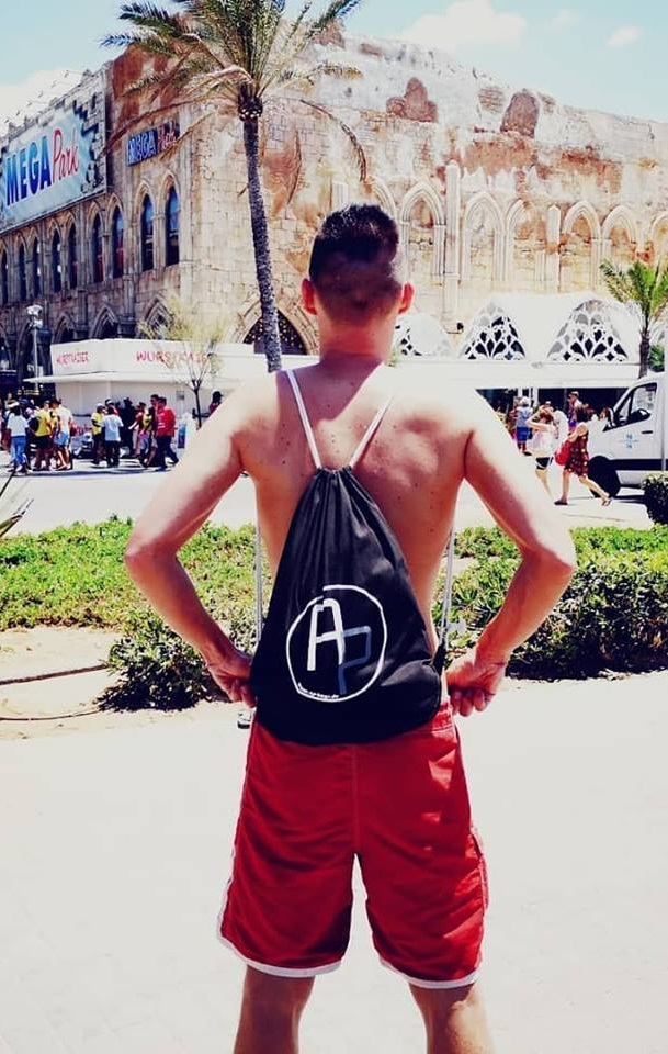 AP-Bags Alex O. Turnbeutel Party Megapark Mallorca Playa de Palma