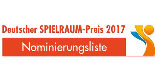 Auf der Nominierungsliste für den Deutschen Spielraumpreis...
