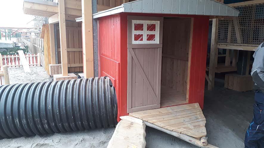 Tunnelsysteme erweitern den Entdecker- und Spielspaß!