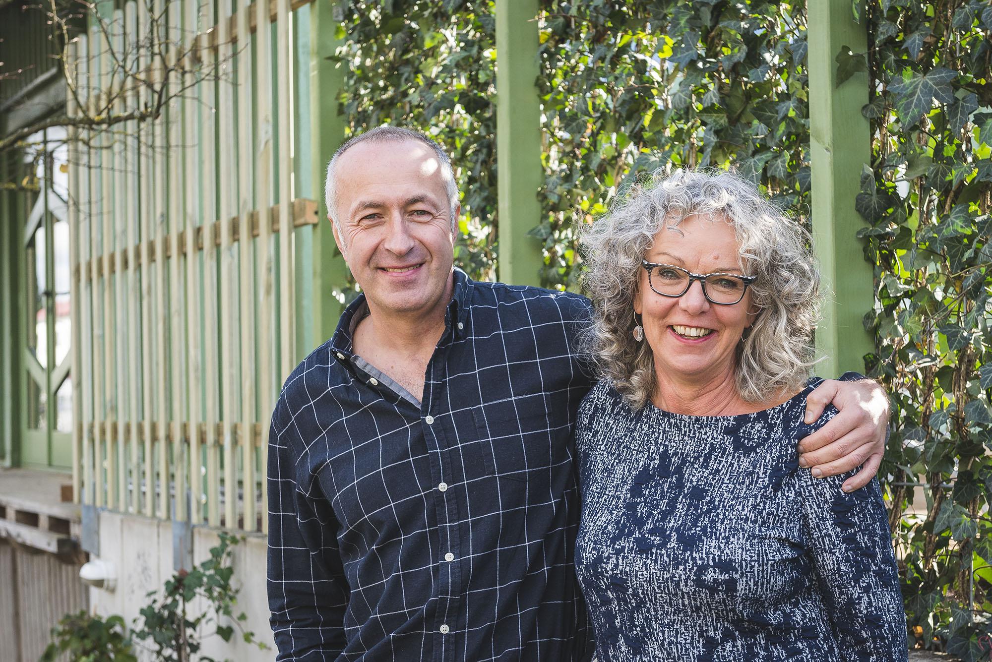 Petra Kühne und Robert Neher – Eigentümer des Seminarhauses.