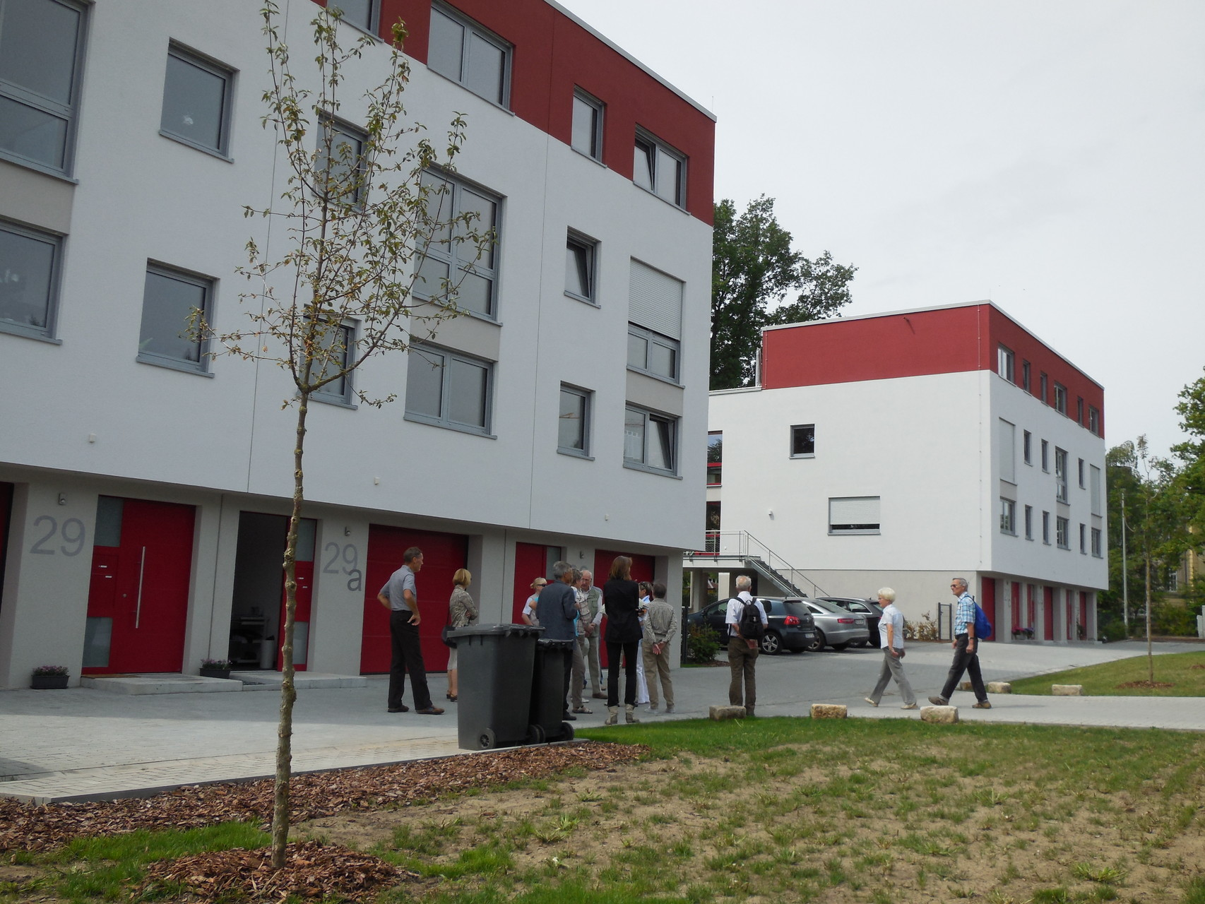 Neubau Whnhausgruppe Dresden, Südhöhe, Straßenseite (2014)