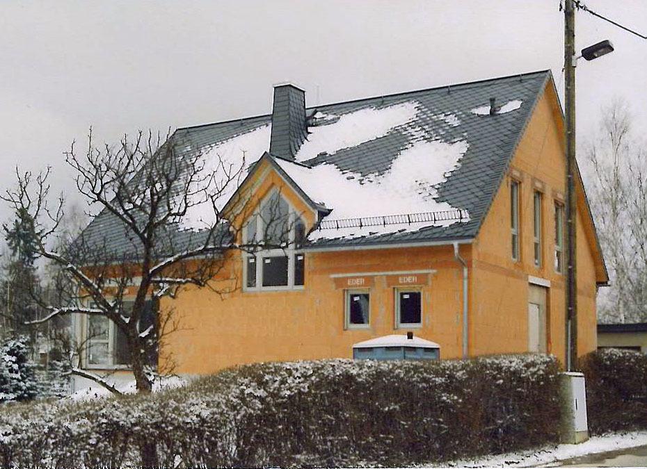 Eigenheim, Niederschöna (2001)