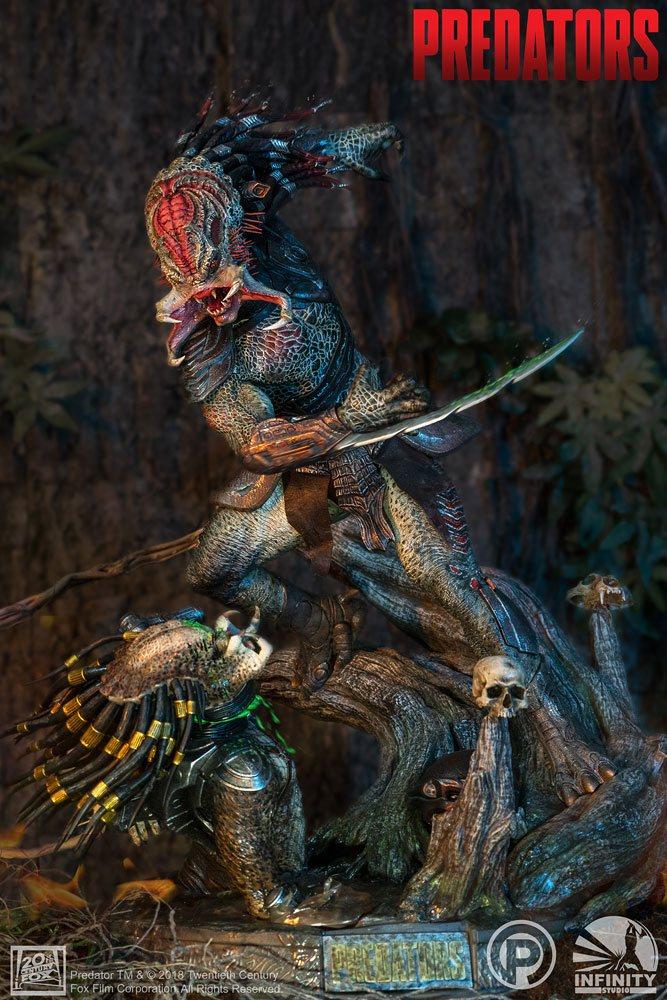 Berserker vs Predator 1/4 Predators Statue Resin Diorama 72cm Infinity Studio