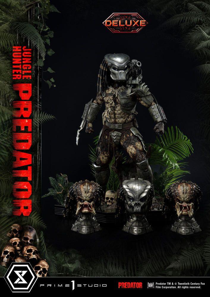 Predator Museum Masterline Statue 1/3 Jungle Hunter Predator Deluxe Bonus Version 90cm Prime 1 Studio