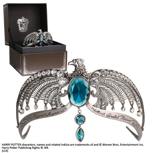Rowena Ravenclaws Diadem 1/1 Life Size Harry Potter Kopfschmuck Krone Noble Collection NOB7247