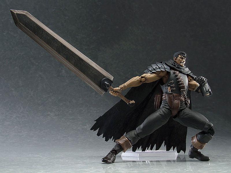 Guts Black Swordsman Ver. Repaint Edition Berserk Figma Anime Actionfigur 17cm Max Factory