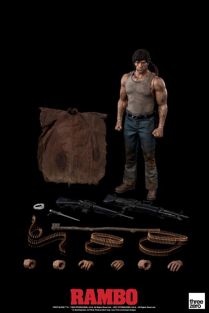 John Rambo  1/6 Rambo I Actionfigur 30cm Threezero