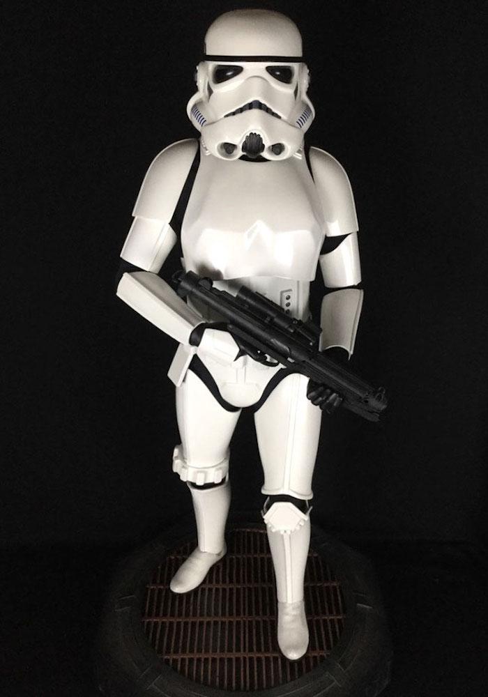 Stormtrooper Classic 1/2 Legendary Scale Star Wars Episode IV-VI 97cm Statue Sideshow