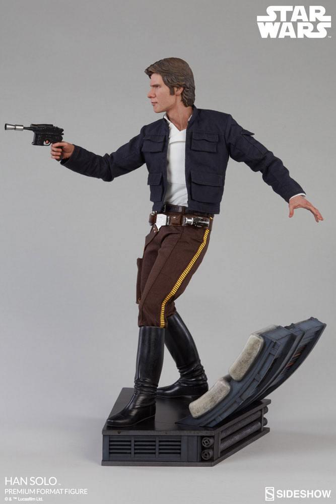 Han Solo Classic 1/4 Premium Format Star Wars Episode V 50cm Statue Sideshow