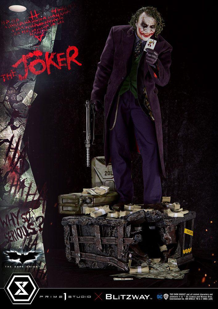 The Joker Bonus Version 1/3 Batman - The Dark Knight DC Statue 72cm Prime Studio