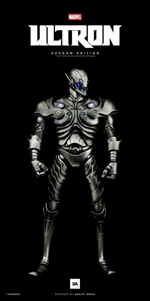 Shadow Ultron 1/6 Marvel Avengers Actionfigur 34cm 3A Toys
