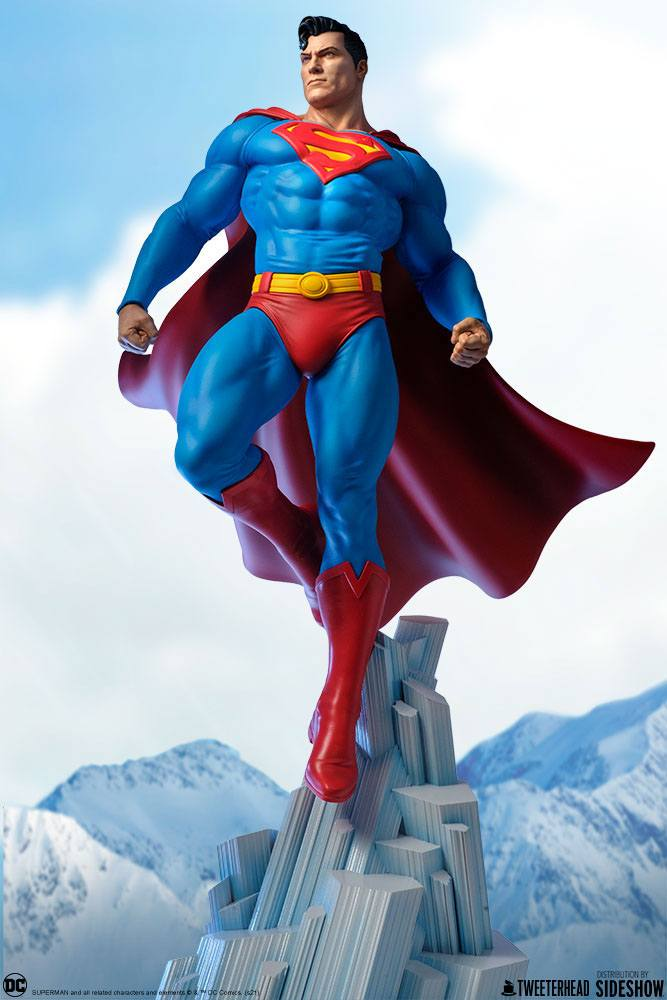 Superman 1/6 Maquette DC Comics Statue 52cm Tweeterhead
