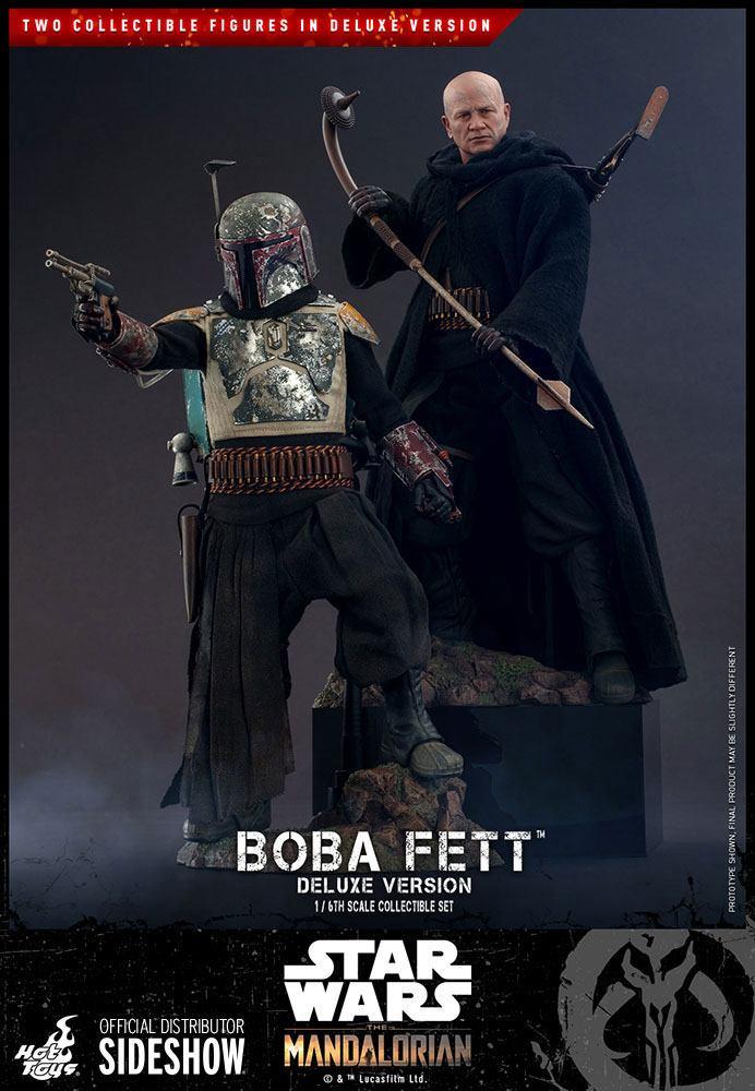 Boba Fett Deluxe 1/6 Star Wars The Mandalorian Actionfiguren Doppelpack 30cm Hot Toys