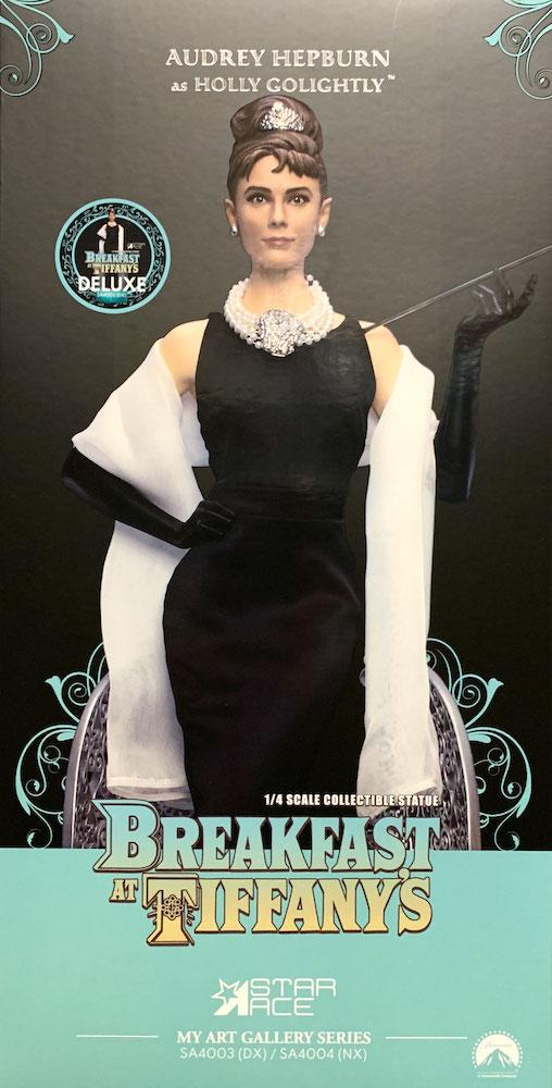 Holly Golightly (Audrey Hepburn) 1/4 Breakfast at Tiffany's Statue 52cm Star Ace