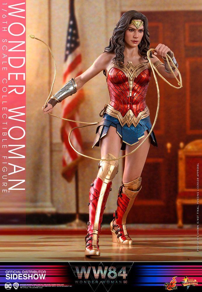 Wonder Woman 1/6 WW 1984 Movie Masterpiece Actionfigur 30cm Hot Toys