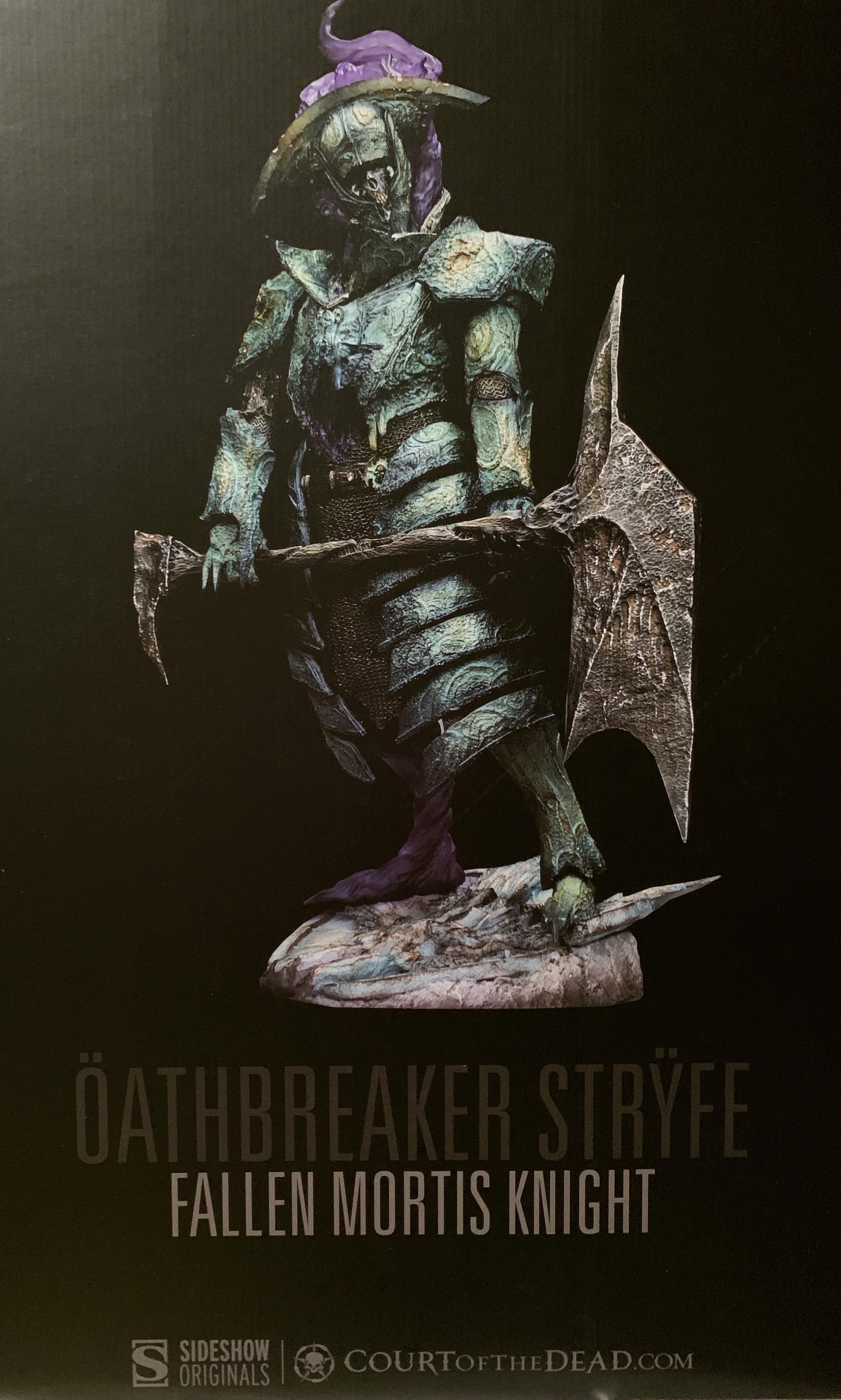Oathbreaker Strÿfe: Fallen Mortis Knight 1/4 Court of the Dead Premium Format Statue 60cm Sideshow
